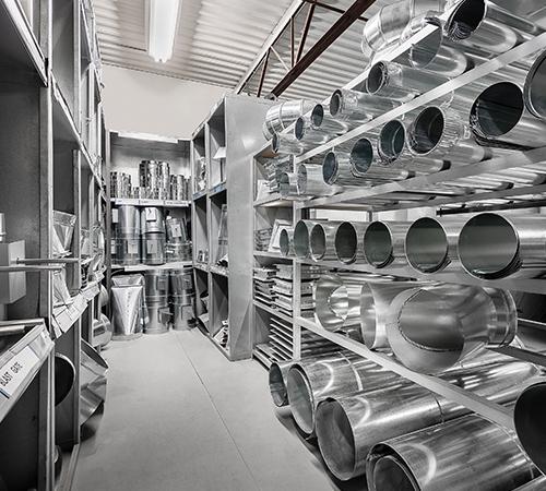 Distributeur d'accessoires de conduits de ventilation
